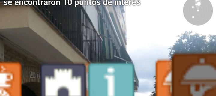 """DTI """"Visita a los Patios de Córdoba"""", Geolocalización, Realidad Aumentada, Visitas Virtuales"""