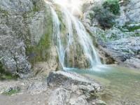 """Cascada de """"Las Chorreras"""", en la Nava."""