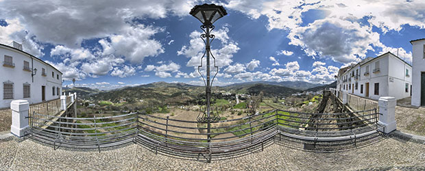 balcon del adarve panorama